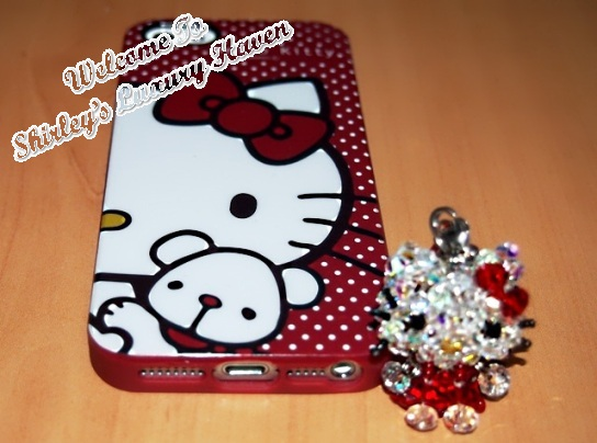hello kitty swarovski handphone case japan