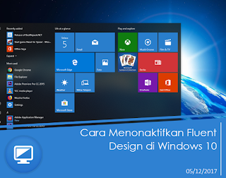 Cara Menonaktifkan Fluent Design di Windows  Cara Menonaktifkan Fluent Design di Windows 10