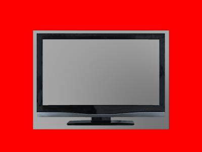 A foto mostra uma tela de televisão vazia que simboliza as programações vazias de bons conteúdos exibidas nos canais abertos.