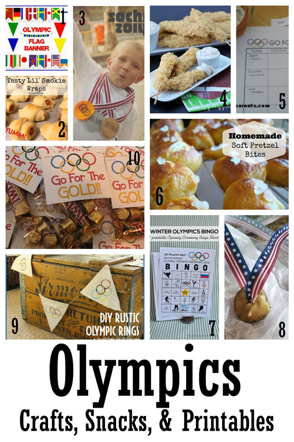 Making the World Cuter Olympic Crafts and Recipes