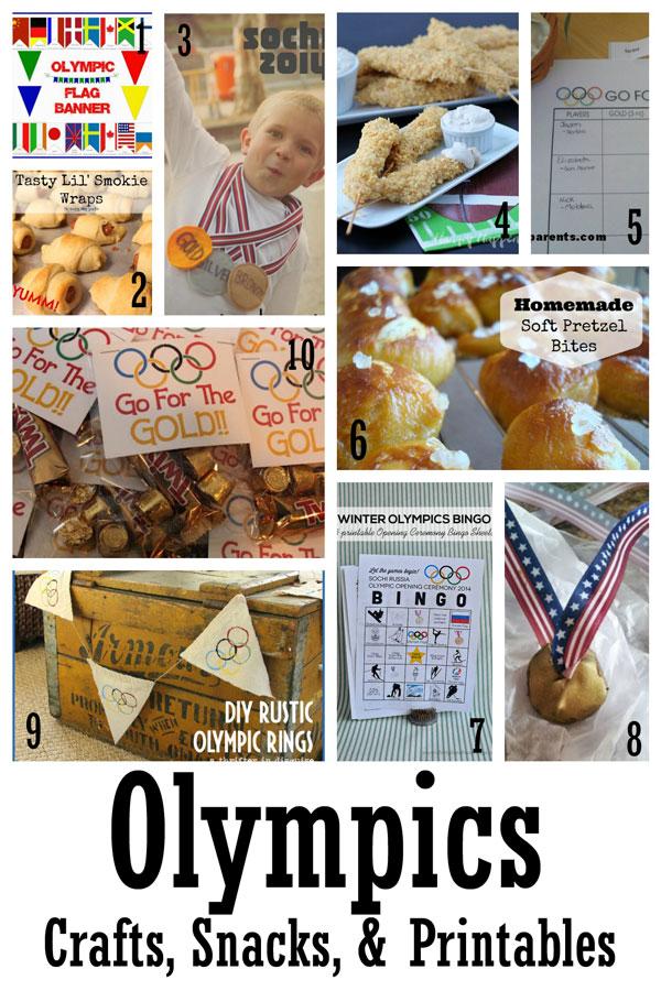 Olympic Crafts and Snacks - Rae GUn Ramblings