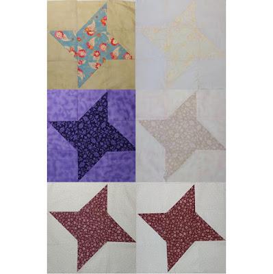 Bleaching quilt blocks