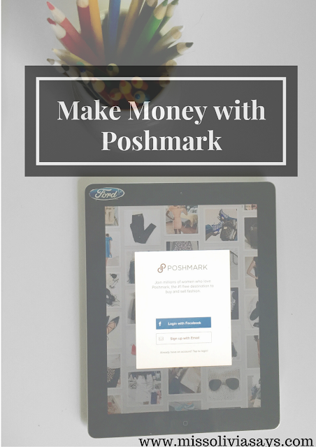 Make money quick using Poshmark - sell your new and used clothes