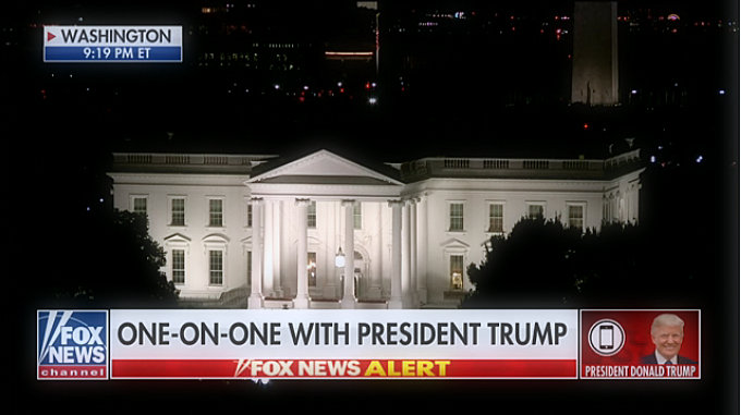 President Donald Trump, President of Fox News, Sean Hennessy: Democrats made this fake crime