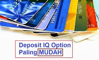 cara deposit iq option paling mudah dengan atm bca bri bni