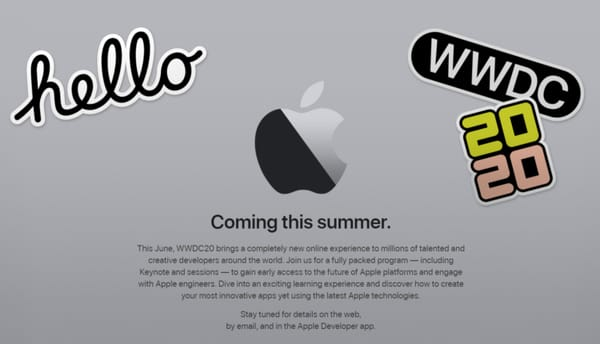 Apple announces digital WWDC 2020 conference Because of corona