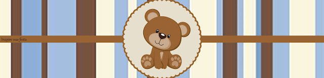 Little Bear with Stripes: Free Printable Candy Bar Labels.