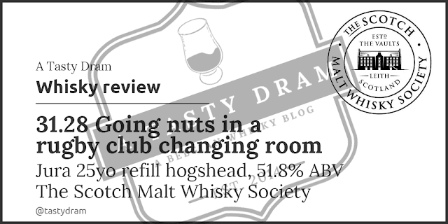Jura SMWS 31.28 Going nuts in a rugby club changing room