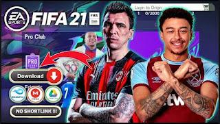 Download FIFA 14 Spesial FIFA 21 Grafik Full HD Shadow Realistis & New Update Transfers Winter 2021