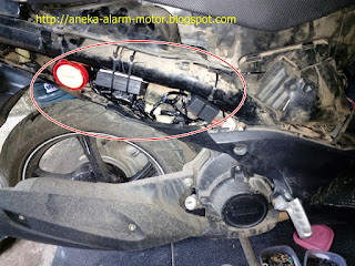 Cara pasang alarm motor pada Yamaha Mio Soul GT