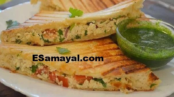 பன்னீர் கிரில் சாண்ட்விச் செய்வது | Paneer Grill Sandwich Recipe !