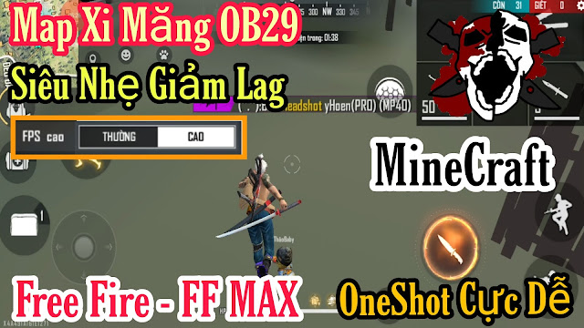 GIẢM LAG FREE FIRE - FREE FIRE MAX NEWS SMOOTH OBB V2 OB29 MỚI NHẤT