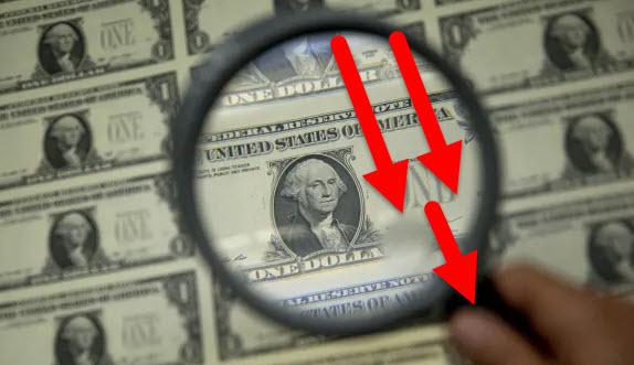 El dólar sigue bajando