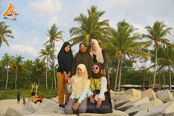 Pantai MJ Muara Indah Desa Arung Parak Sambas