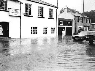 Flood at Lea Gate, August 1986
