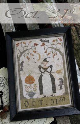 Oct. 31st  Designer: Brenda Gervais