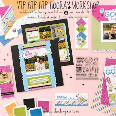 VIP Hip Hip Hooray Workshop