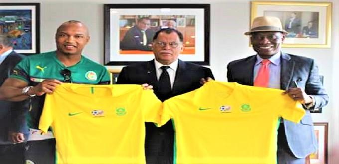 """جنوب إفريقيا تدعم ملف ترشح المغرب لاستضافة """"مونديال 2026"""""""