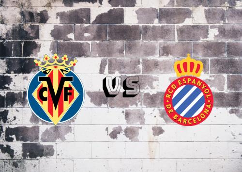 Villarreal vs Espanyol  Resumen