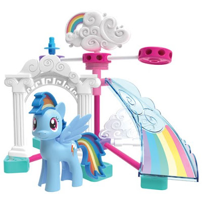 K'NEX My Little Pony Spin and Soar Cloudsdale Building Set