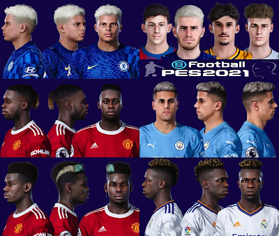 PES 2021 Facepack Update Agust 2021 by SR