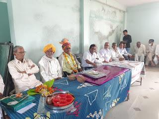 24 वर्षों से दे रहे थे सेवा, सेवानिवृत्ति पर गांव वालो ने किया विदाई समारोह