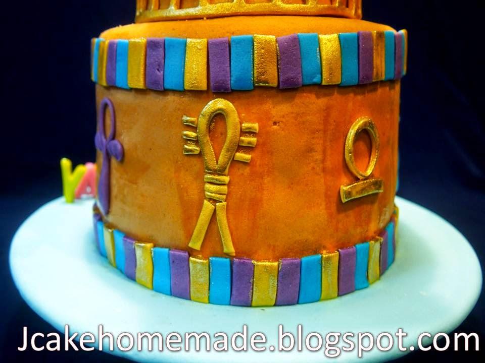 Jcakehomemade Ancient Egypt Cake
