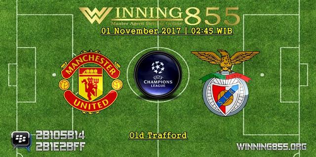 Prediksi Akurat Manchester United vs Benfica | 01 November 2017
