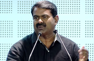 I will Defeat Karunanidhi with a Youngest Candidate from My Party – Naam Tamilar – Seeman