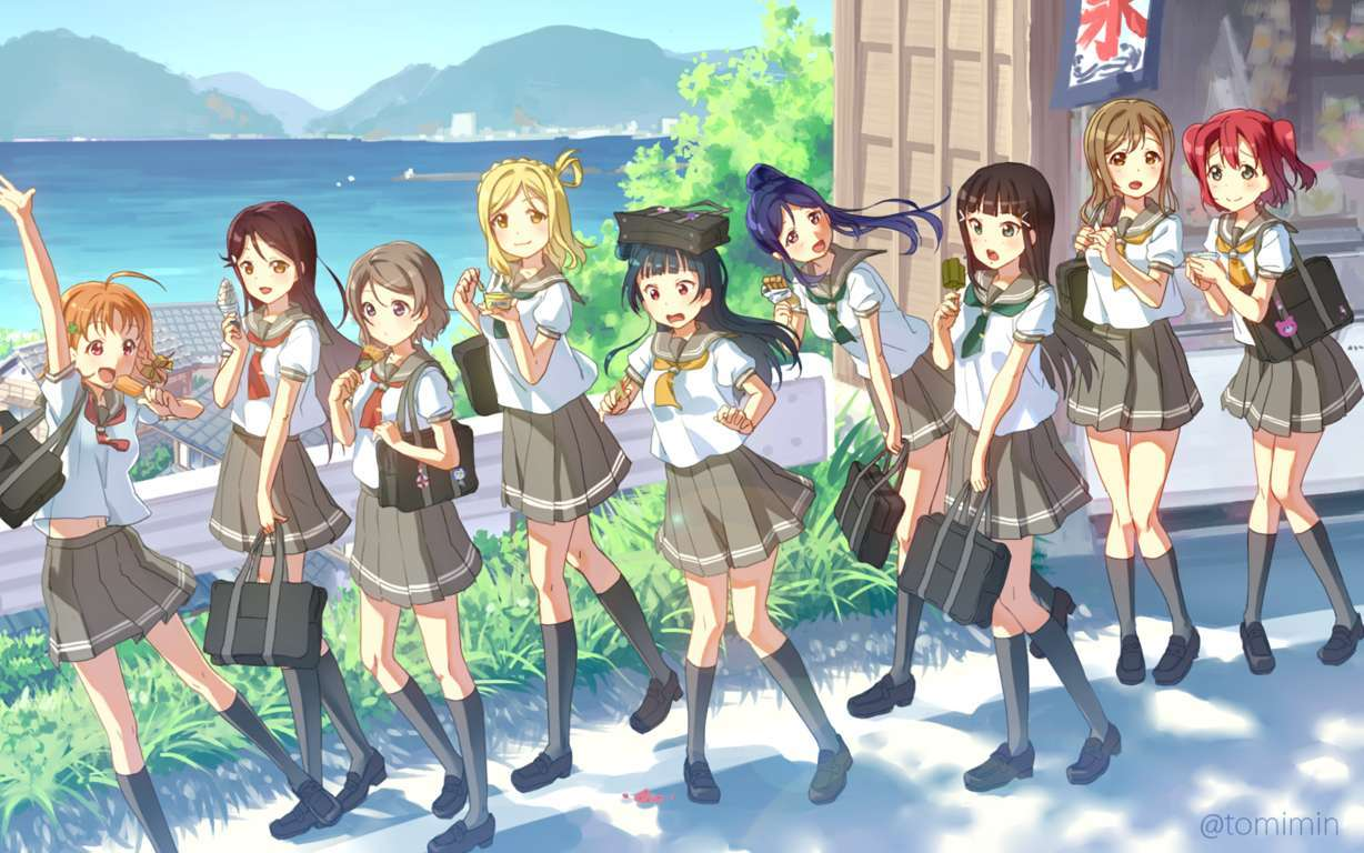 OST Love Live Sunshine (Music Collection) (Update CD2) | Remember