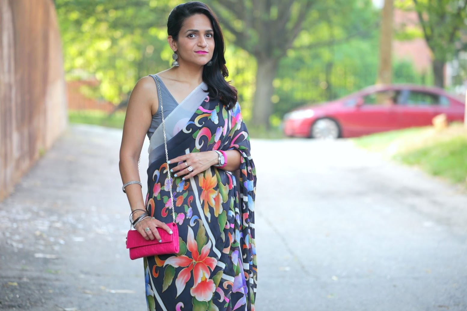 Saree, Indian, South Asian American, Summer Style, Tanvii.com
