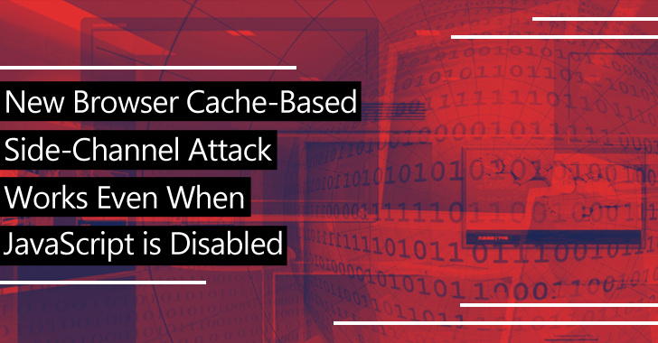 New Browser cache-based side-channel Attack