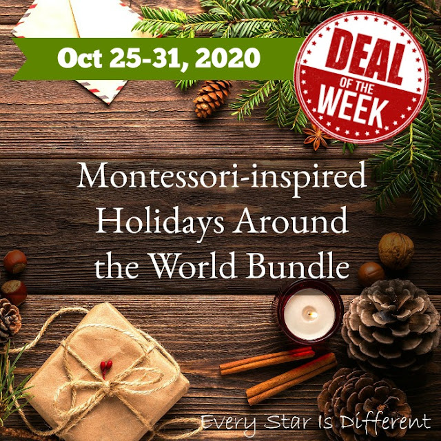 Deal of the Week: Montessori-inspired Holidays Bundle