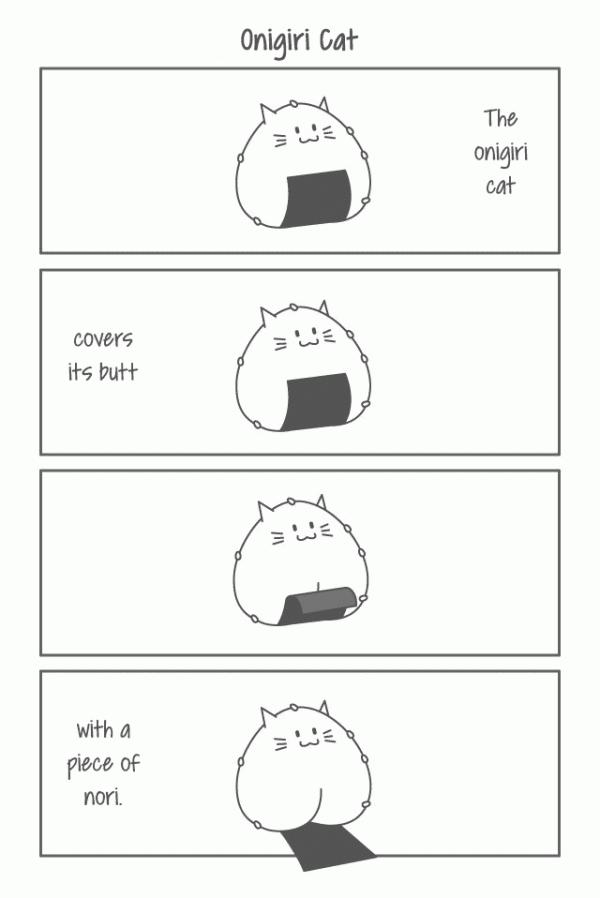 Onigiri Cat