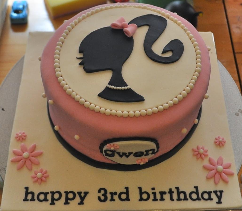 Momatoye Barbie Logo Cake Ieya