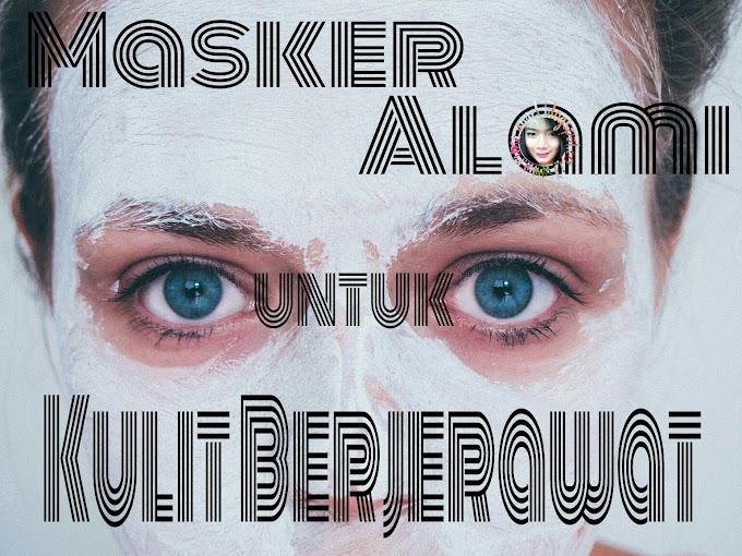 Masker Alami untuk Kulit Jerawat