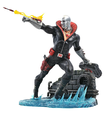 Diamond Select GiJoe Destro Gallery Diorama PVC sculpture 03