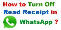 how to disable blue tick in whatsapp