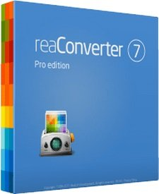 reaConverter Pro 7.580 poster box cover