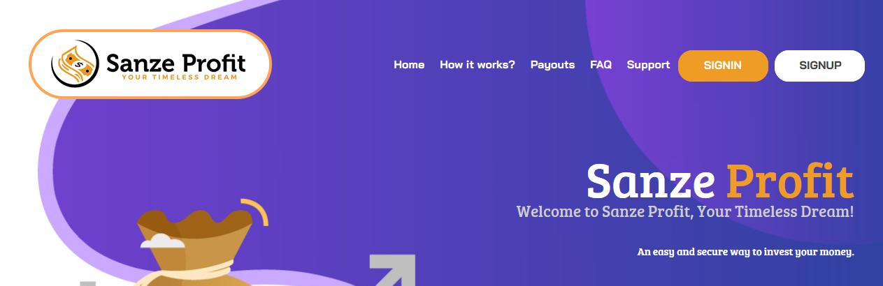 Мошеннический сайт sanzeprofit.com, contact@sanzeprofit.com – Отзывы, платит или лохотрон?