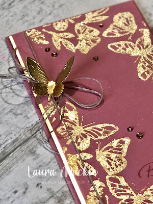 Stampin up floating & fluttering