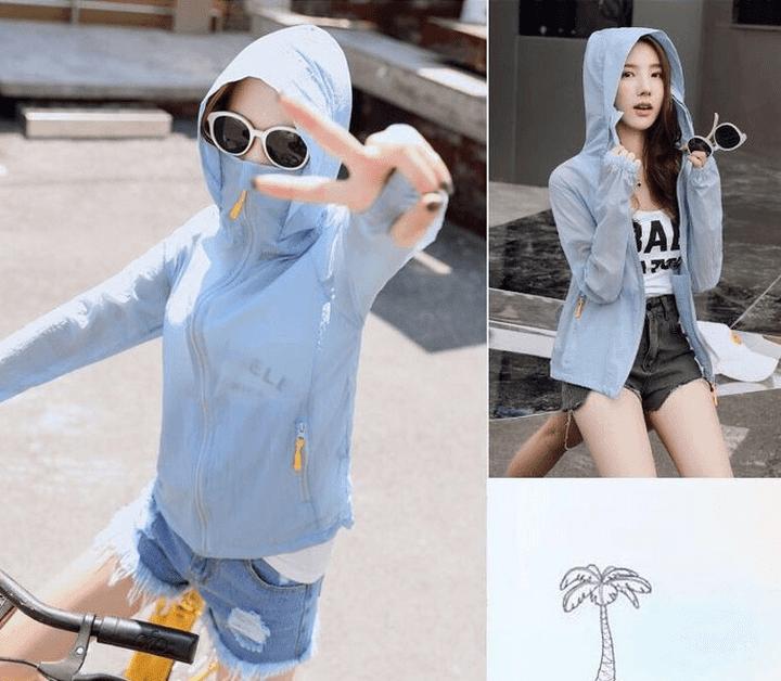 Các loại vải thun sử dụng may áo khoác chống nắng in hình lên áo thun đẹp