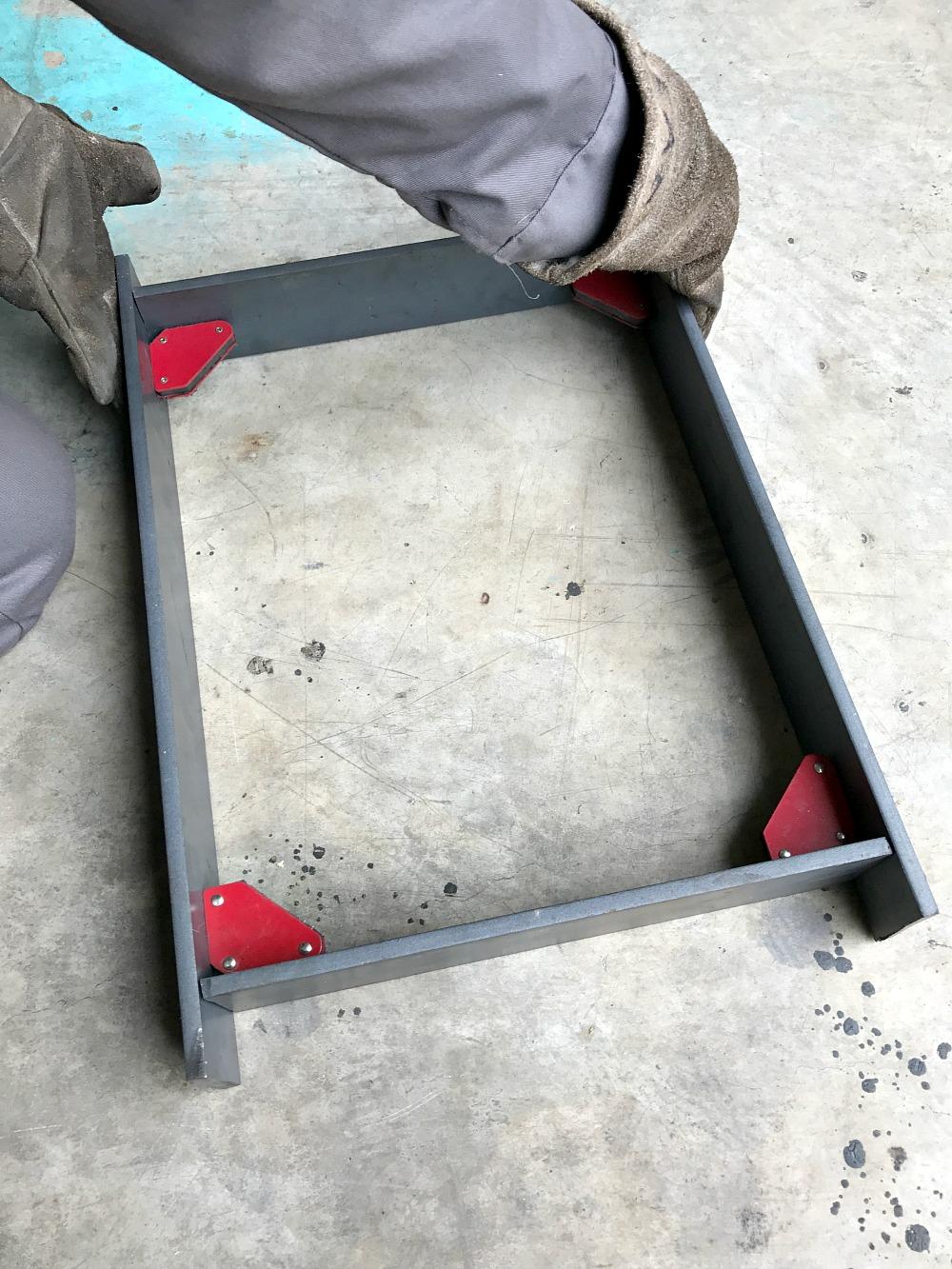 DIY Welded Bench Base