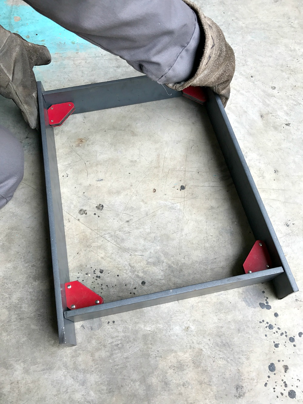 DIY Welded Bench Base