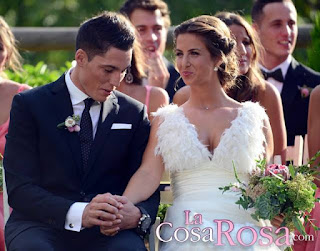 ALEIX ESPARGARÓ AND HIS LOVELY WIFE LAURA MONTERO Wedding