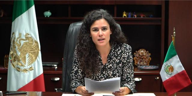 La secretaria del Trabajo y Previsión Social (STPS), Luisa María Alcalde.