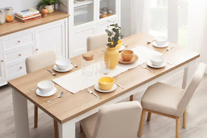 7 Minimalist Dining Table Designs That Give Contemporary Impressions