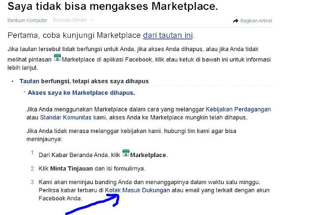 Cara Mengatasi Fitur Marketplace Hilang di Facebook