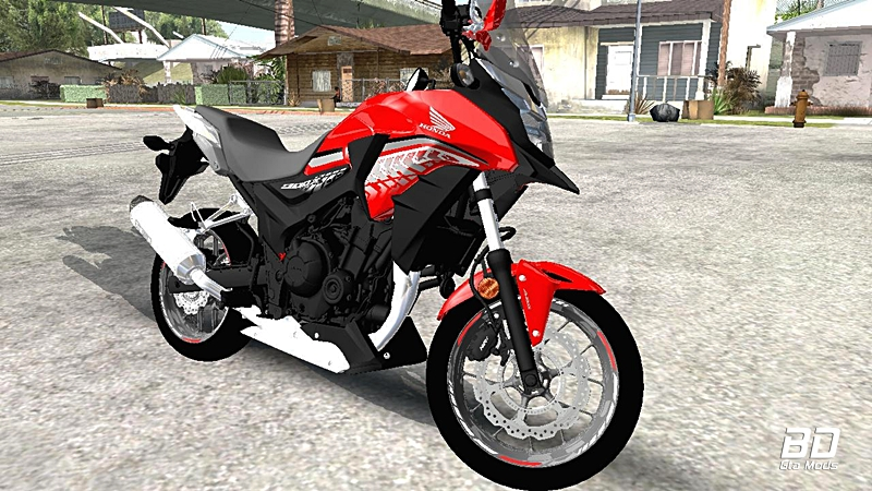 Download mod moto , Honda CB500X 2017, GTA San Andreas, GTA SA PC