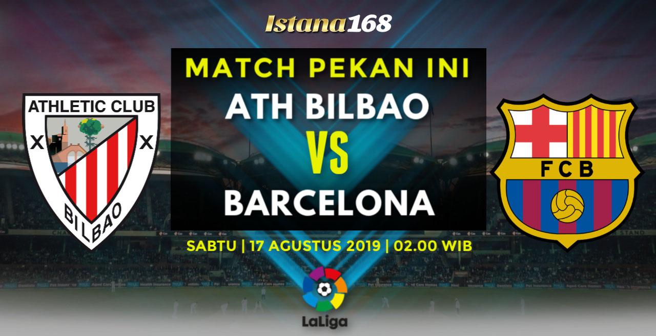 Prediksi Ath Bilbao vs Barcelona 17 Agustus 2019